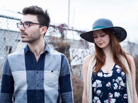 Mike Bono and Natalie Cressman perform as a duo at