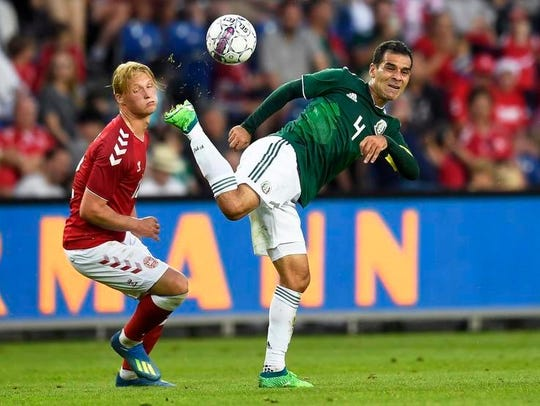 Rafael Marquez and the Mexico national team will be