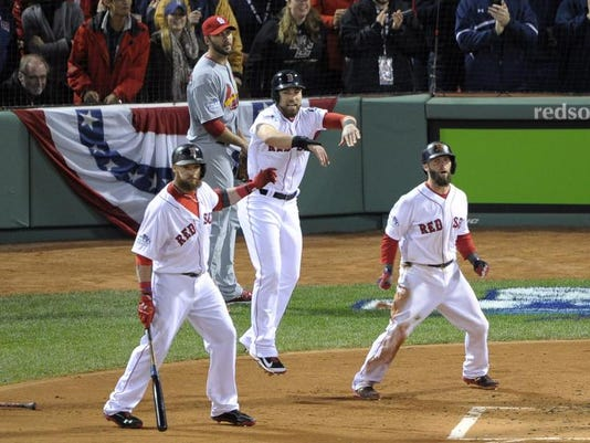 World Series starts with boost from reversed call as Red Sox