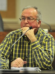 Clyde Barnhill is a longtime  Franklin alderman at