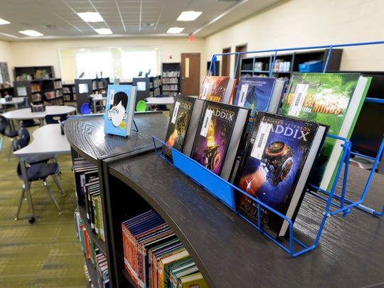 Thompson's Station Elementary School library and media room, Sunday, August 5, 2018, in Thompson's Station, Tenn.