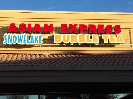 Asian Express Sign