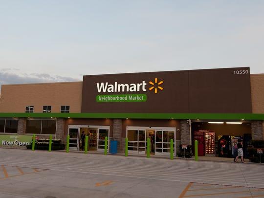 Walmart Neighborhood Markets are smaller than Supercenters