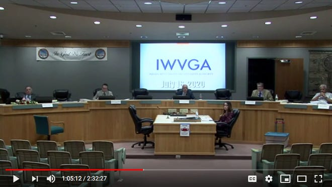 The IWVGA at its most recent meeting.