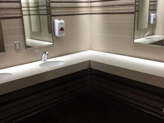 Oglesby Union bathroom.