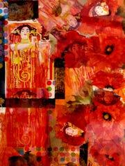 """Honey Costa's """"Klimt's Garden"""""""