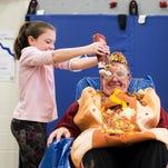 'I feel like an Oscar Mayer wiener': Clearview principal turned into human hot dog