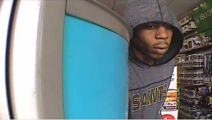 Memphis police are looking for this man in connection with the robbery of the Wolfchase area GameStop store.