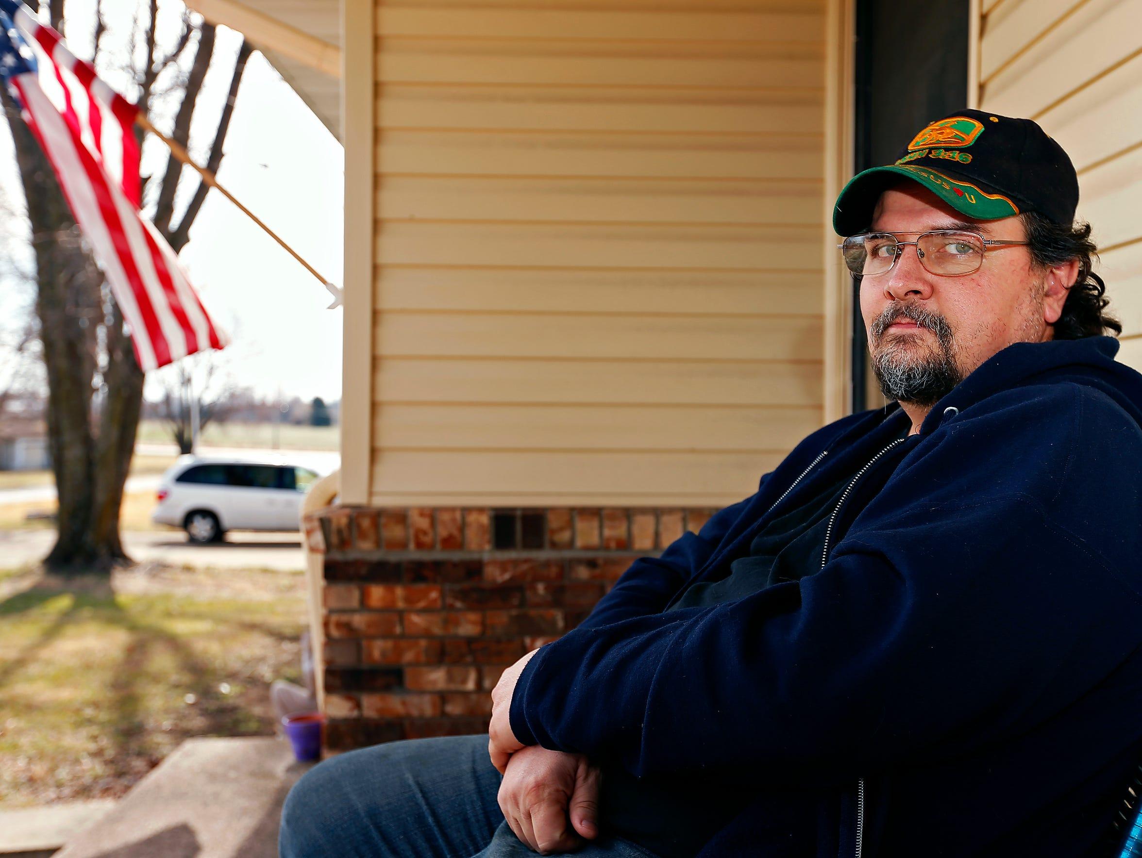 Jeffrey Melhorn lives across the street from the Buffalo,
