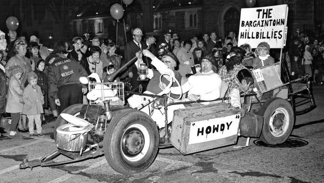 Vineland Halloween parade. 10/30/67.