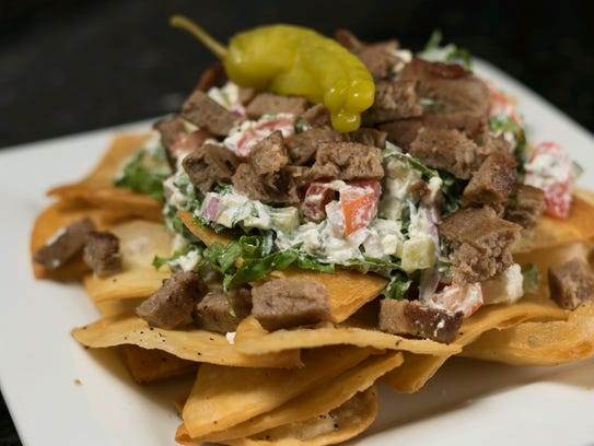 The Greek nachos at Big 10 Tavern in Cape Coral. The