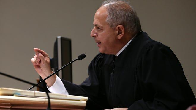 Judge James Piampiano tells ADA William Gargan that he would be put in cuffs if Gargan spoke again while in court on Nov. 5.