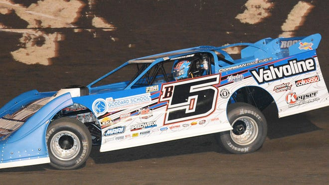 Brandon Sheppard took his second win of the year in the FALS Frenzy late model feature.