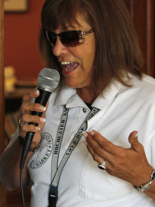 Joan Hildebrand, best known as The Voice of the Rochester Public Market, will be leaving Rochester next week to take a new job in Florida.