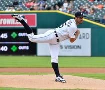 A gritty pitching performance by Justin Verlander ...