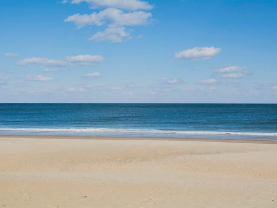 A rendering of the view from the east-northeast from Ocean City Beach, which is the closest point in Ocean City to the Skipjack Wind Project.