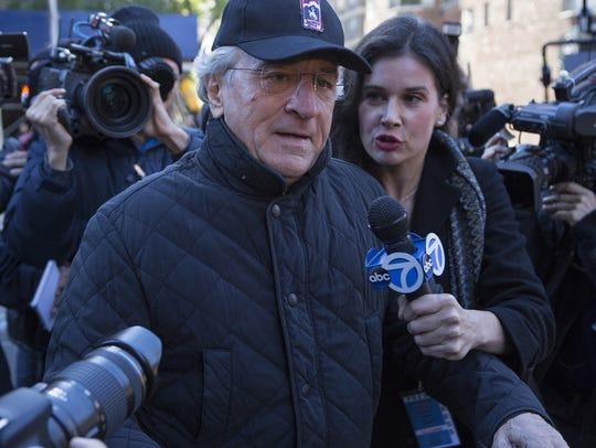 Robert De Niro as Bernie Madoff in 'Wizard of Lies.'