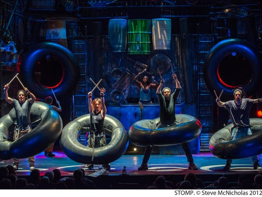 STOMP will perform at 7:30 p.m. Thursday, March 21 in San Angelo.