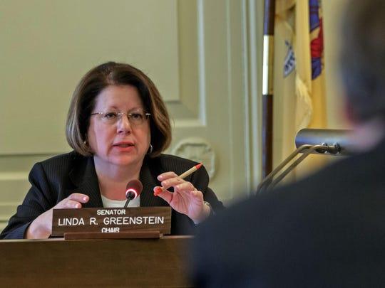 State Sen. Linda Greenstein.