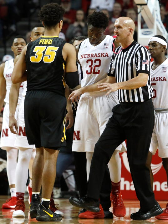 NCAA Basketball: Iowa at Nebraska