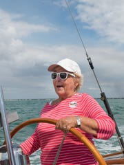 A guest named Dorothy gets the chance to take the helm. Sailing Heals, a nonprofit set up to take cancer patients and caregivers out sailing, organized a sail on March 8 with 30 guests going out of the Naples Sailing & Yacht Club with four volunteer sailiboat skippers.
