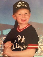 Michael Matusz as a Little Leaguer