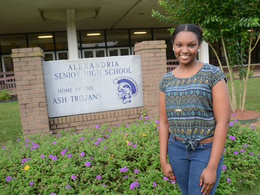 ANI ASH Perfect Attendance Alexandria Senior High School student Chelsea Clark -is one of three Rapides Parish students with perfect attendance.-Melinda Martinez/The Town Talk