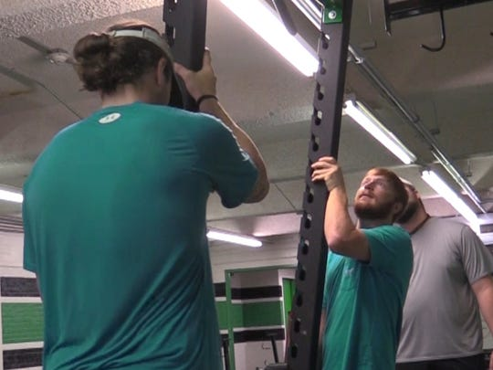 Lafayette High School is installing a new $40,000 weight training room for student athletes.