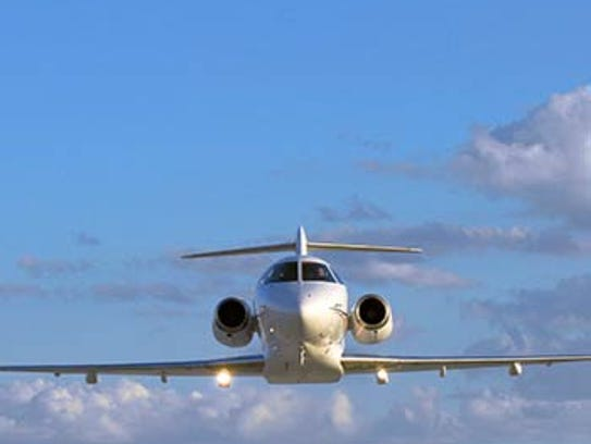 The SJ30 is billed as the fastest business jet currently