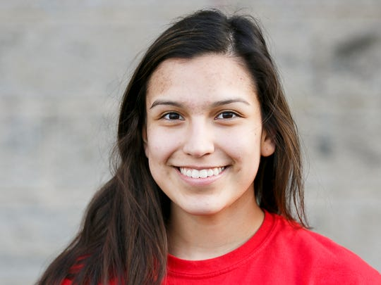 Ana Coronado of Blanchet Catholic School softball.