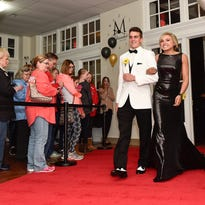 On Saturday Pleasant High School students celebrated their Prom at the Harding Hotel in downtown Marion.