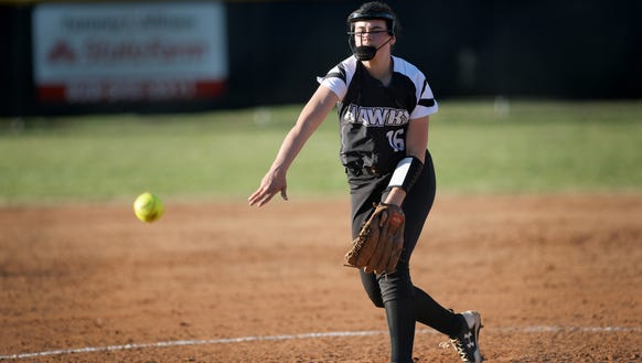 North Buncombe's Caitlin Griffin.