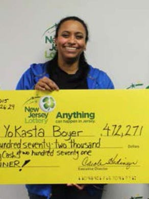 Yokasta Boyer from Clifton discovered an old lottery she had bought that was worth over $ 472,000 in 2016.