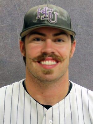 Hardin-Simmons pitcher Colt 'Goose' Ritzel.