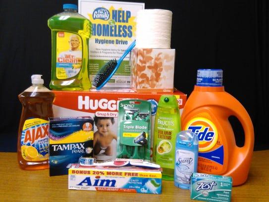 A 'Help for the Homeless' hygiene drive seeks items