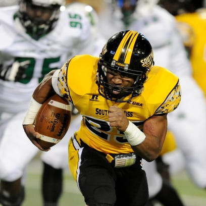 Ito Smith was Southern Miss' leading rusher as a true