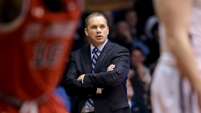 Butler's Chris Holtmann is busy at work building for the future.