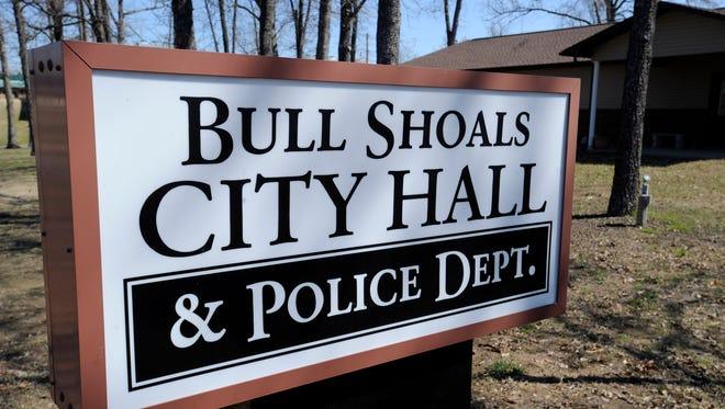 Bull Shoals sign