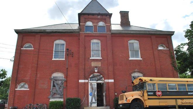The Dent Schoolhouse, located on Harrison Avenue in Cincinnati.