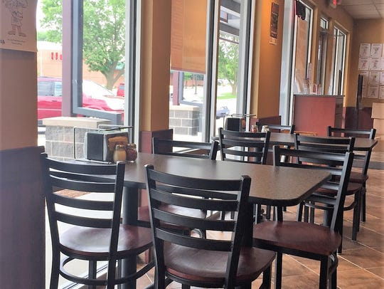 Marco's in Windsor Heights resides in a remodeled strip