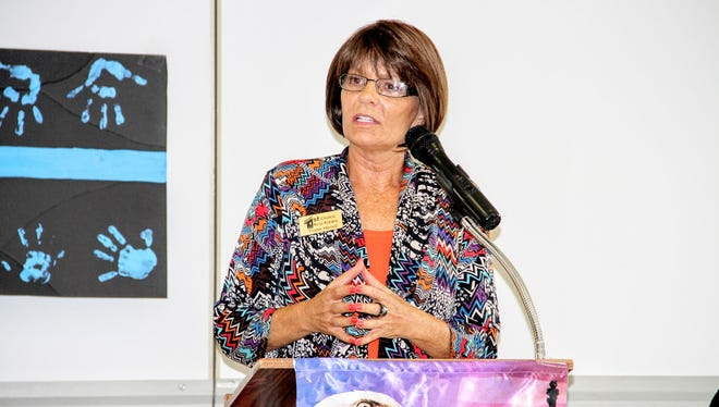 State Rep. Yvette Herrell was the guest speaker at this month's Republican Women of Otero County monthly meeting.