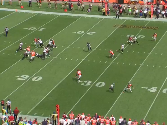 Broncos vs. Ravens. Play 2.2