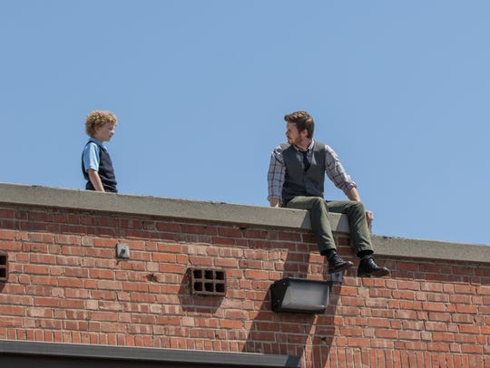 """Marcus Eckert (left) and Anders Holm star in """"A Happening"""