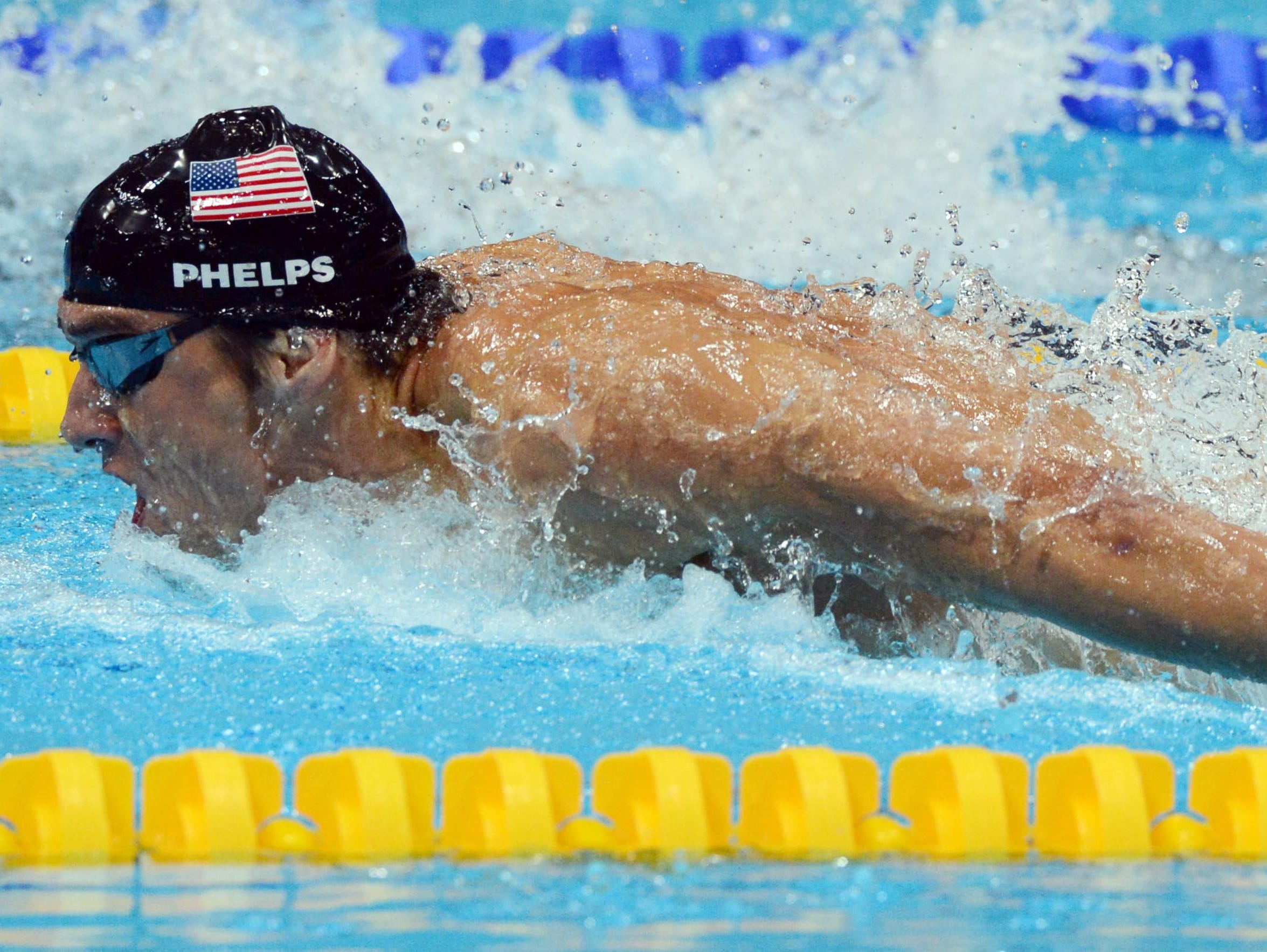 Michael Phelps says swimming will always be a passion,