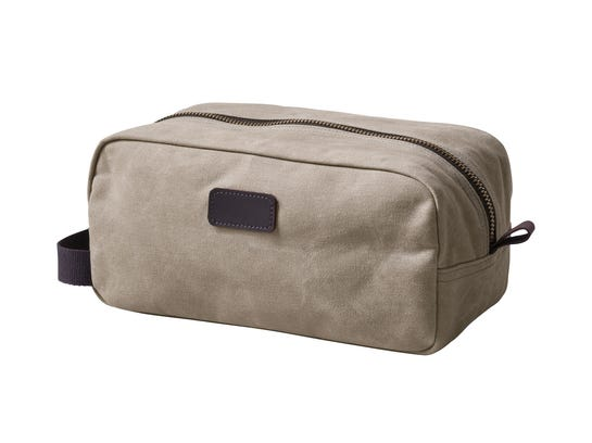 Lands' End Waxed Canvas Travel Kit