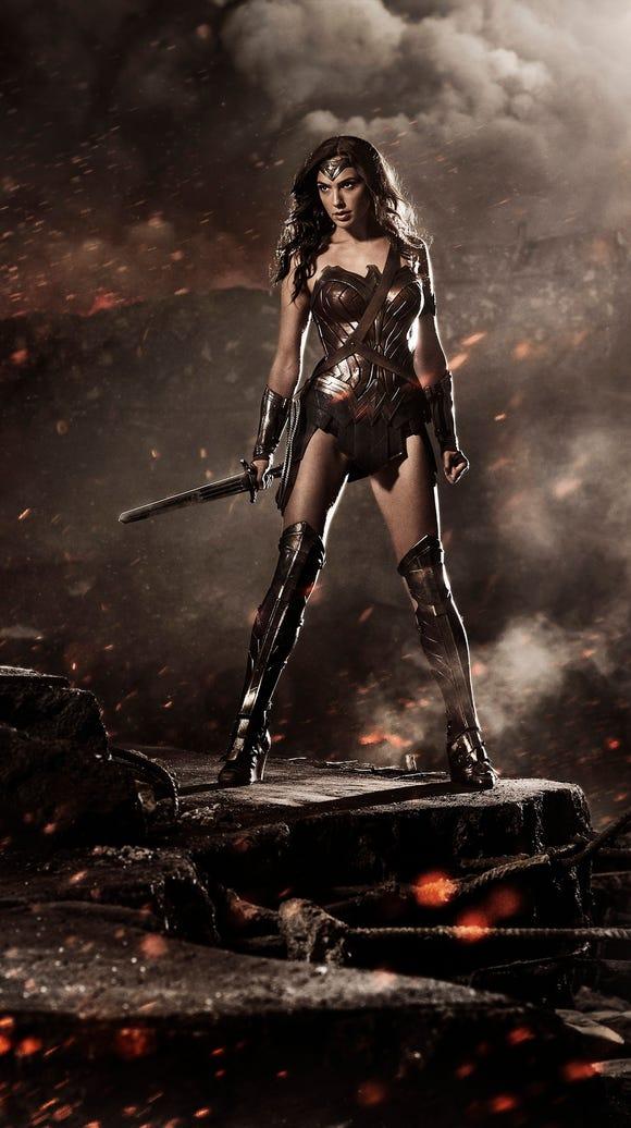 Gal Gadot, who made her debut as Wonder Woman in 'Batman