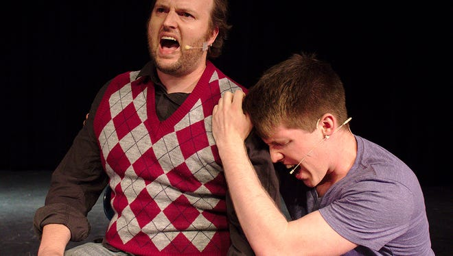"""Axiom Theatre Company performs the play """"Next to Normal"""" at Old City Hall."""