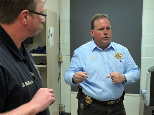 Wichita County Sheriff's Office Special Projects lieutenant