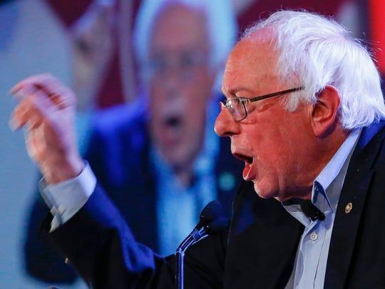 """Sen. Bernie Sanders speaks at """"The People's Summit"""""""