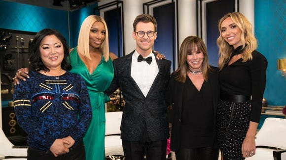 'Fashion Police' co-hosts left to right: Margaret Cho,